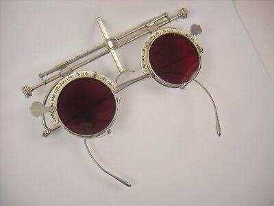 American Optical antique optometrist trial lens frame.  Steampunk eyeglasses.