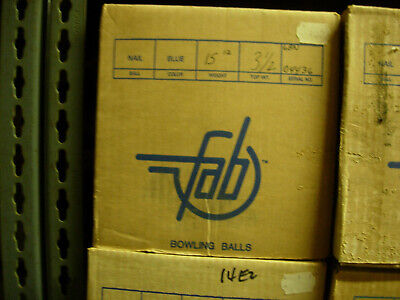 Used, Nail 1st 15# 12 oz, TW 3-1/2 NIB NOS Faball 1986 - 6BN for sale  Honolulu