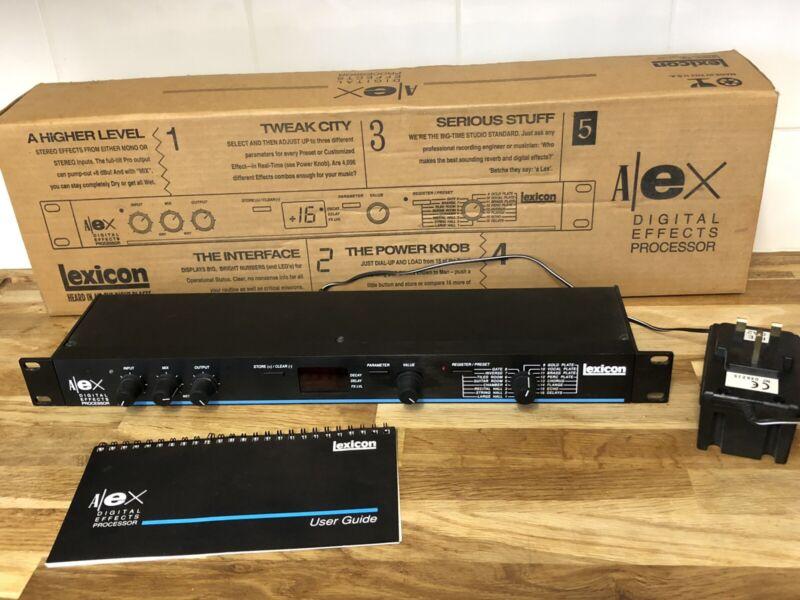 Lexicon Alex Digital Effects Processor Stereo Reverb
