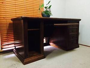 Beautifully polished custom made desk. New $2000. Urgent sale. Bridgewater Adelaide Hills Preview