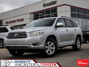2010 Toyota Highlander V6 LEATHER PACKAGE ONLY 91288  KMS!!