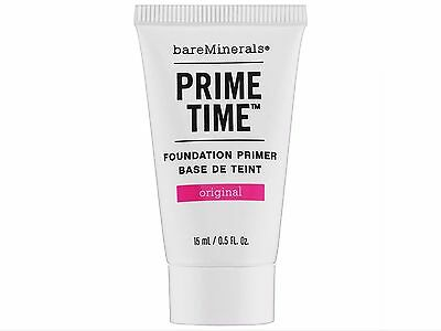 *BRAND NEW* bareMinerals Prime Time Foundation Primer 0.5 oz (15ml) BEST (Best Primers)