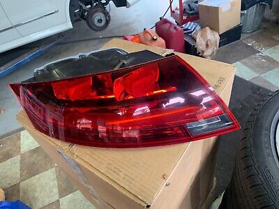 2008-2014 Audi TT Drivers Side Left Side Tail Light Assembly