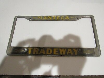 Used Chevrolet License Plate Frames for Sale - Page 2