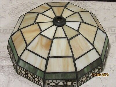 """Tiffany style stain glass SHADE 8 1/4"""""""