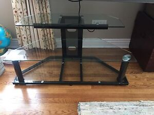 Glass TV Console