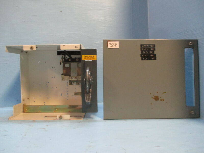 "AB Allen Bradley 2100 Centerline 60 Amp Breaker Type Feeder MCC Bucket 12"" 60A"
