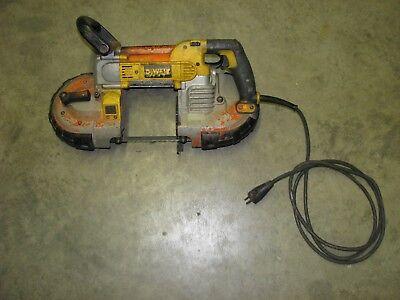 DEWALT DWM120 Variable Speed Portable Handheld Metal Cutting Band Saw  Cut Portable Electric Band Saw