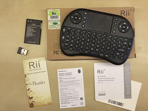 Rii mini i8 azerty clavier français sans fil - noir