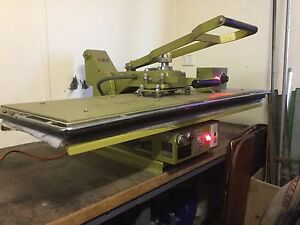 Flat bed fusing press-hp124 Fairfield Fairfield Area Preview