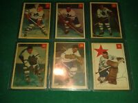 Vantage hockey cards 1954-55 parkhurst