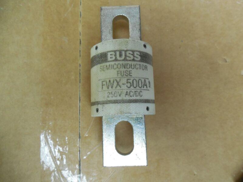Bussmann Semiconductor Fuse FWX-500A FWX500A 500A 500 A Amp New
