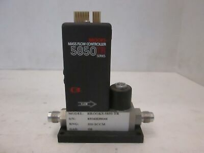 Brooks 5850tr Mass Flow Controller Mfc O2 500 Sccm Used