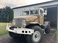 1956 GMC Army truck - modified 4x4 with 4 wheel steering