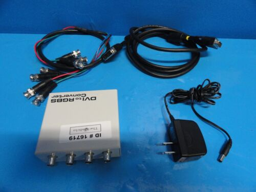 Sony UP55HD/CON1 DVI TO RGBS CONVERTER W/ ADAPTER DVI & RGBS CABLES ~16719