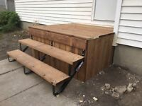 Concrete front step removal and rebuild