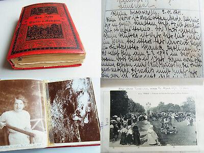 Tagebuch 1911 v. Marie-Elisabeth SCHLEE (später Frau v. Friedrich Gustav Jaeger)
