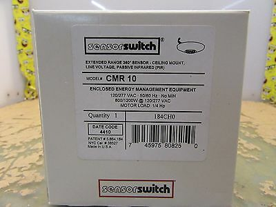 Sensor Switch Cmr-10 Ceiling Mount Pir Occupancy Sensor 184ch0 3b-23