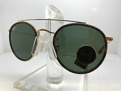 AUTHENTIC RAY BAN SUNGLASSES RB 3647N 001 GOLD GREEN LENS 098588e645
