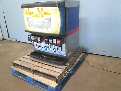 Cornelius H.d. Commercial Lighted 8 Flavors Soda Machine Wice Dispenser