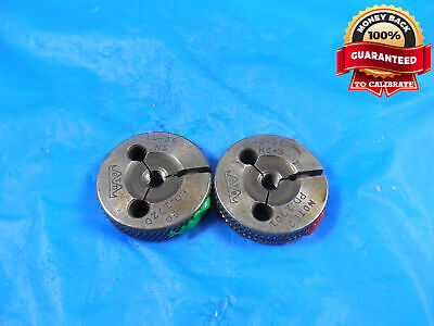 10 36 Ns 3 Thread Ring Gages 10 .190 Go No Go P.d.s .1720 .1701 10-36