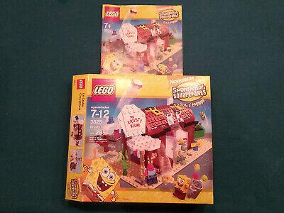 Lego Spongebob Squarepants Set 3825 Krusty Krab 100% Complete