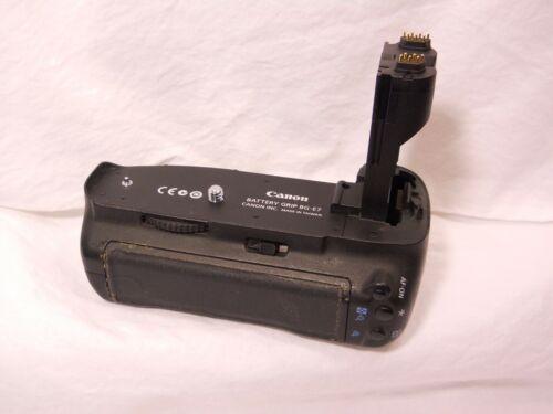 Canon BG-E7 Battery Grip For Canon EOS 7D *** WORKS *** Genuine Canon BGE7