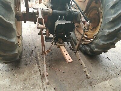 Massey Harris 444 Tractor 3 Point Hitch Complete 3rd Link Brackets Bolts Mh Oem
