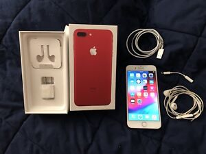 "iPhone 7 plus ""red edition"" 128g"