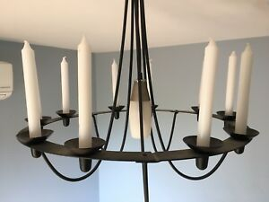 Unique Candle/ Electric Chandelier (candles included)
