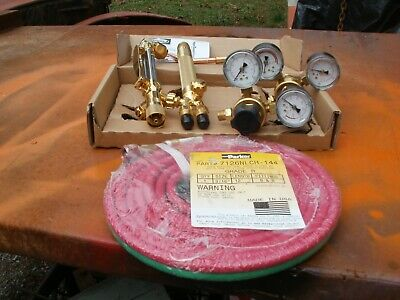 Brand New Cutting Tourch Set With Hose And Both Regulators Harris Tourch
