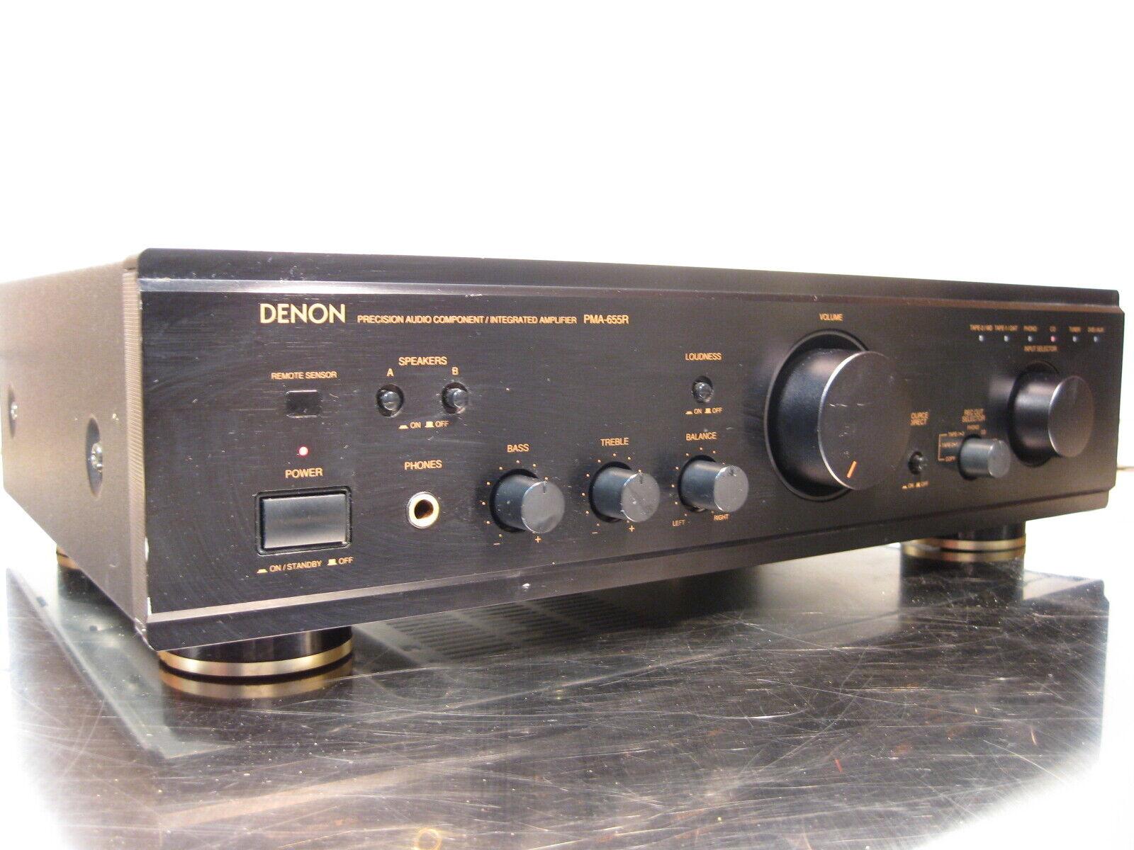 Denon pma-655r amplificateur amplifier ampli verstaker no remote.