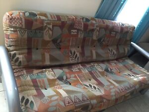 Futon couch double bed