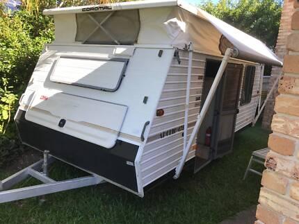 1994 Coromal Apollo 475 pop top caravan