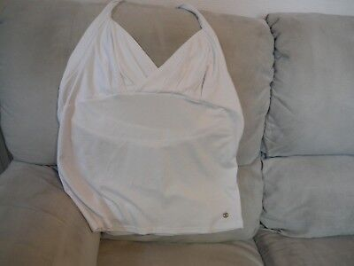 t-shirt blanc,   dos nu,   taille 48,  (Lola Liza)   nouveau d'occasion  Watermael-Boitsfort
