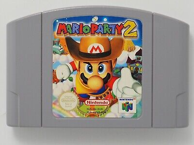 Mario Party 2 for Nintendo 64 N64 PAL *100% GENUINE* CART ONLY Aust. Seller