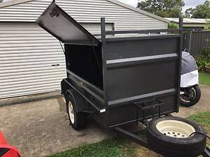 Enclosed Box trailer. 7X4, Mint Condition Cooranbong Lake Macquarie Area Preview