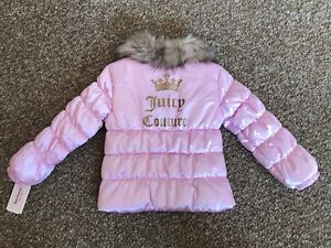 Brand New Juicy Couture Girl's Puffer Jacket ( 5T )