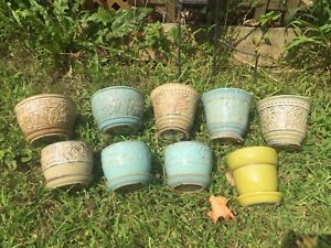 9 Flower Pots (ON HOLD)