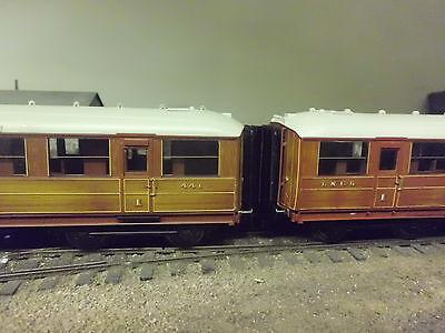 LNER Gresley bellows corridor connectors x 10 n gauge 2mm