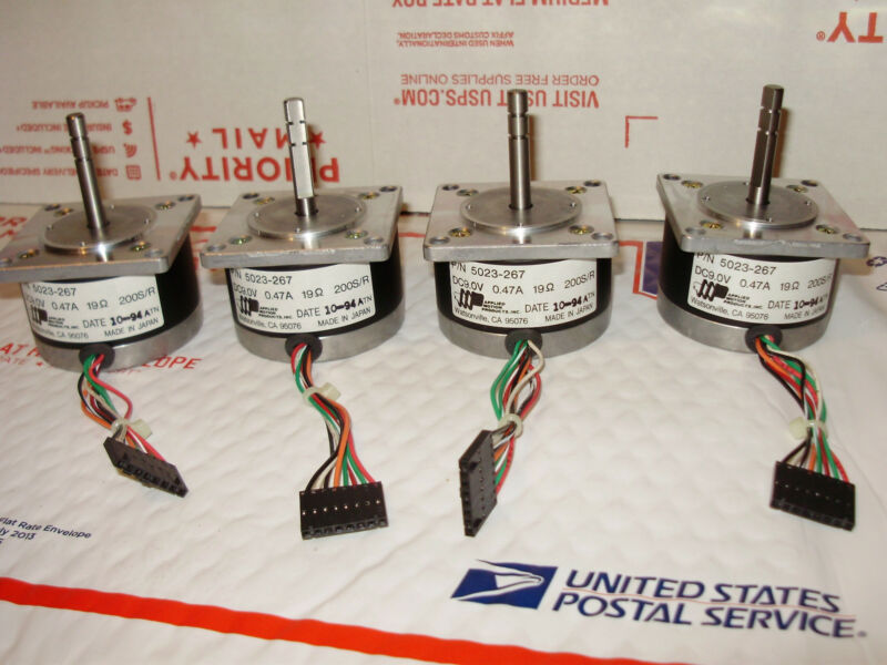 (4) Applied Motion 5023-267 Stepper  Motors - CNC mill/drill --3D printer
