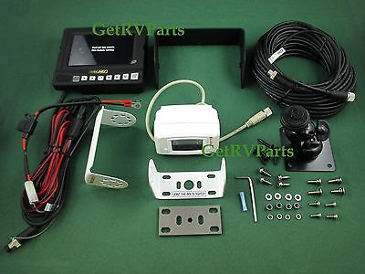 "Weldex RV Motorhome 5"" Rear View Monitor System WDRV-5041M Cable Camera Mount"