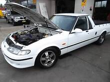 FORD FALCON 9/98 XH UTE 5 SPEED MANUAL, LOWERED, EXTRACTORS Newcastle 2300 Newcastle Area Preview