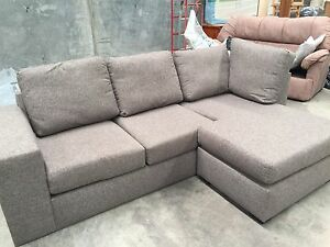 L shaped couch with pull out bed Nowra Nowra-Bomaderry Preview