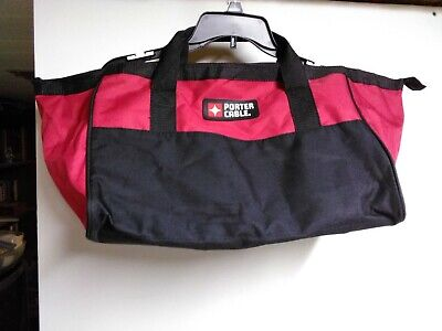 Genuine OEM Porter Cable Heavy Duty Nylon ~ Tool Contractor Bag ~ Combo Kit Bag