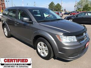2013 Dodge Journey SE Plus ** DUAL CLIMATE, CRUISE **