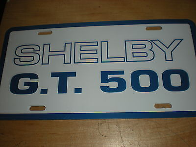 2 BLEMISHED 2007-2012 Shelby GT500 Mustang 5.4L Signature Build Plate Replica