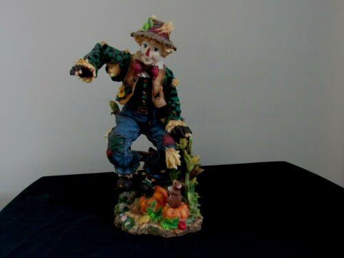 Lenox 2002 Harvest Celebration Scarecrow Figurine Collectible Discontinued