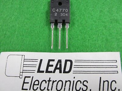 QTY 2 OF 2SC4770 TO3P/PKG NPN Triple Diffused Planar Silicon Transistor