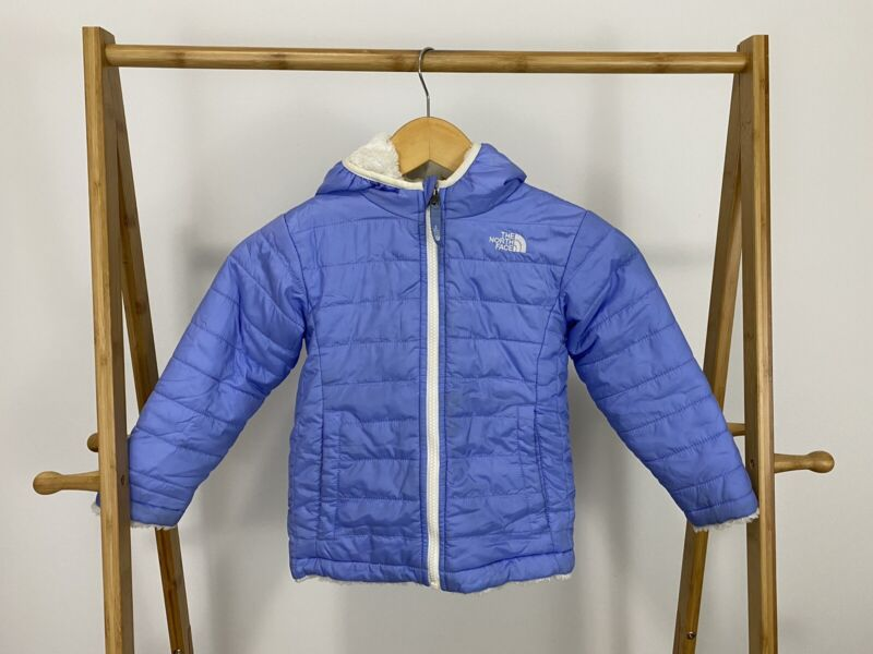 The North Face Toddler Fleece Lined Puffer Insulated Reversible Hood Jacket 4T